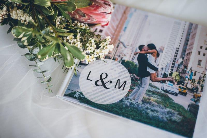 Save the date with Flowers