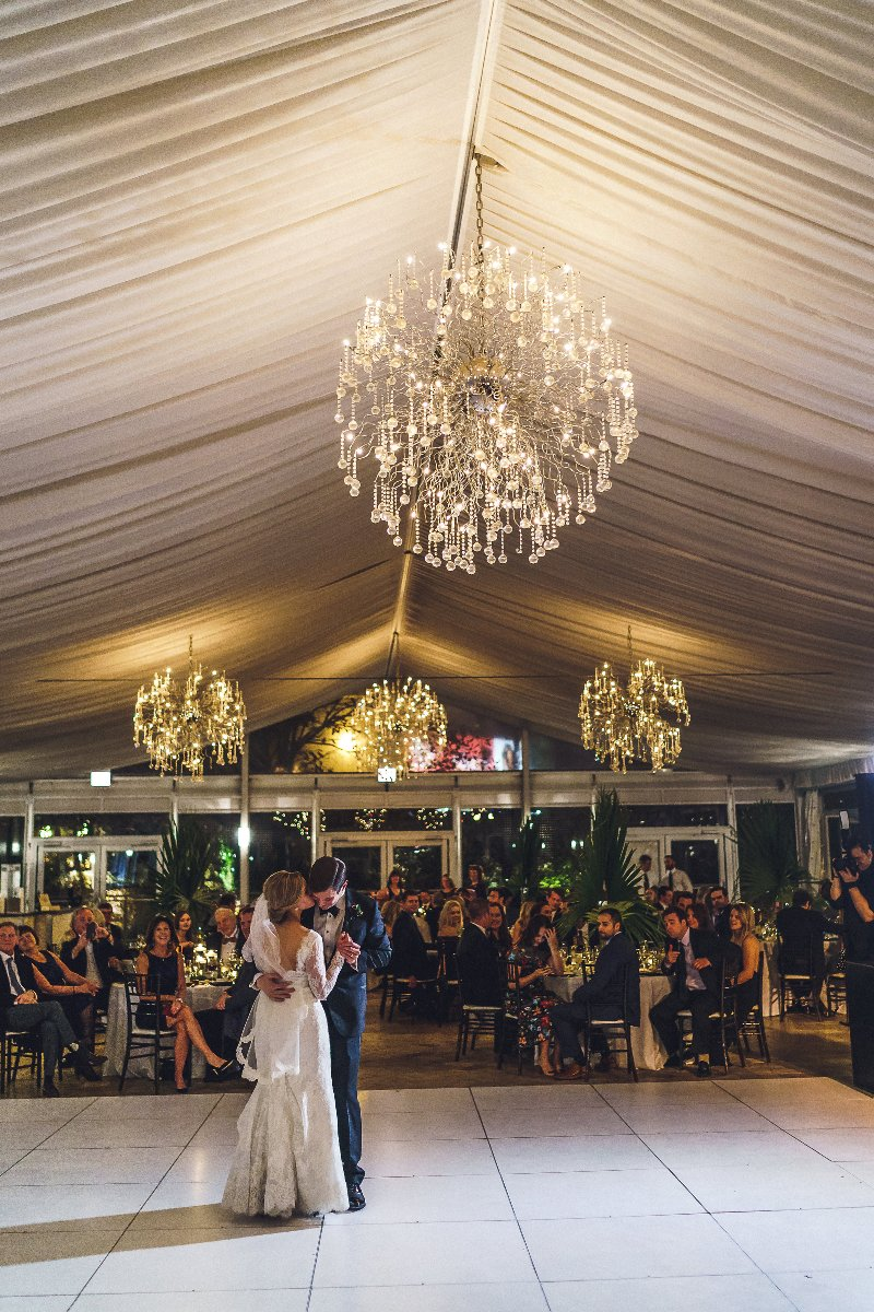 First dance room view