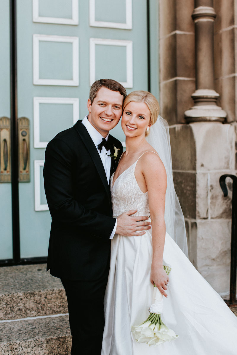 St Alphonsus Church And Chicago Cultural Center Wedding Libby Kelly
